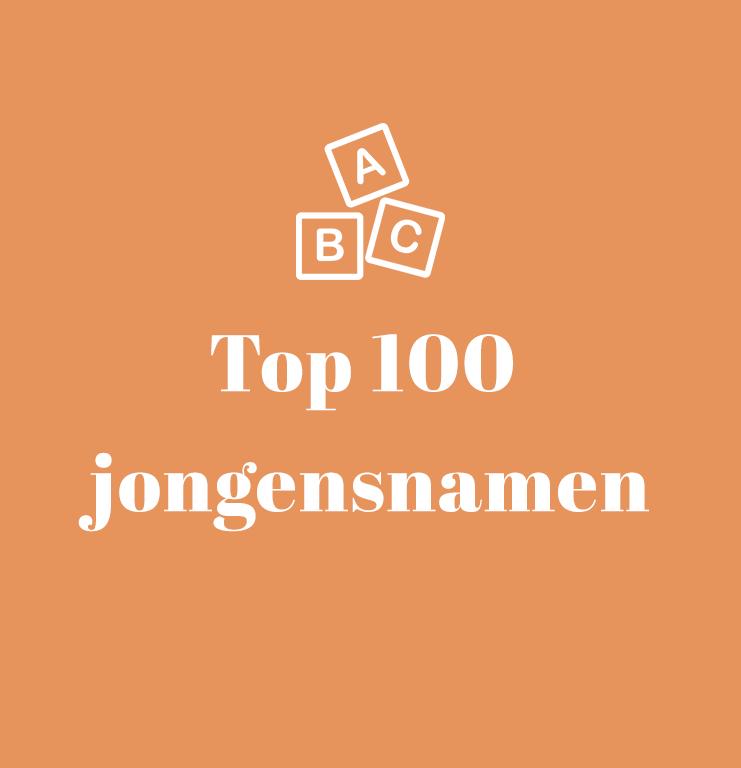 Top 100 jongens babynamen vlaanderen