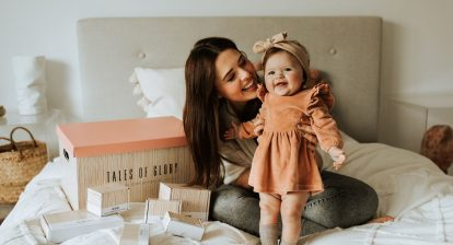 milestone box herinneringen baby en peuter