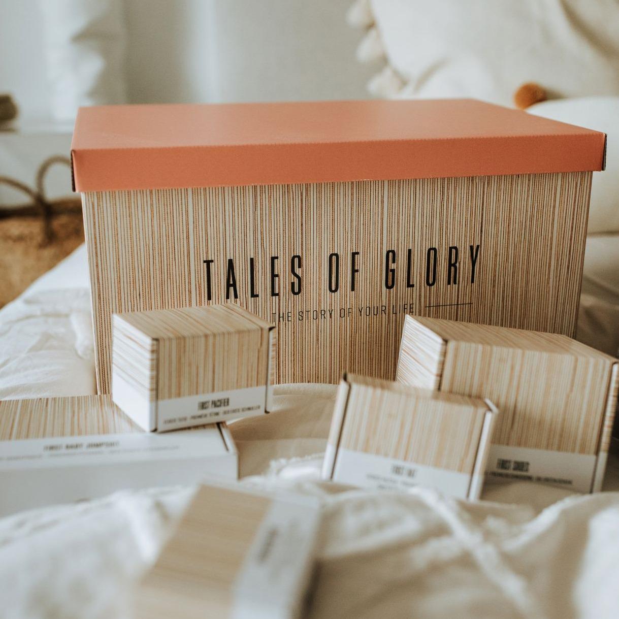 Een memory box die alle herinneringen aan je kleuter of peuter bijhoudt.