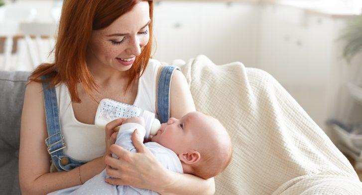 flesvoeding onder mama's