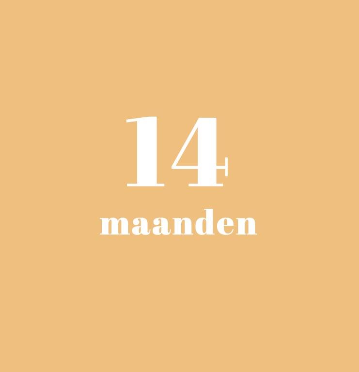 babykalender - 14 maanden