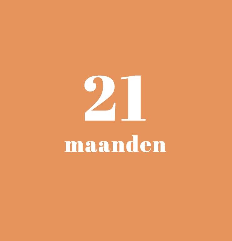 babykalender - 21 maanden