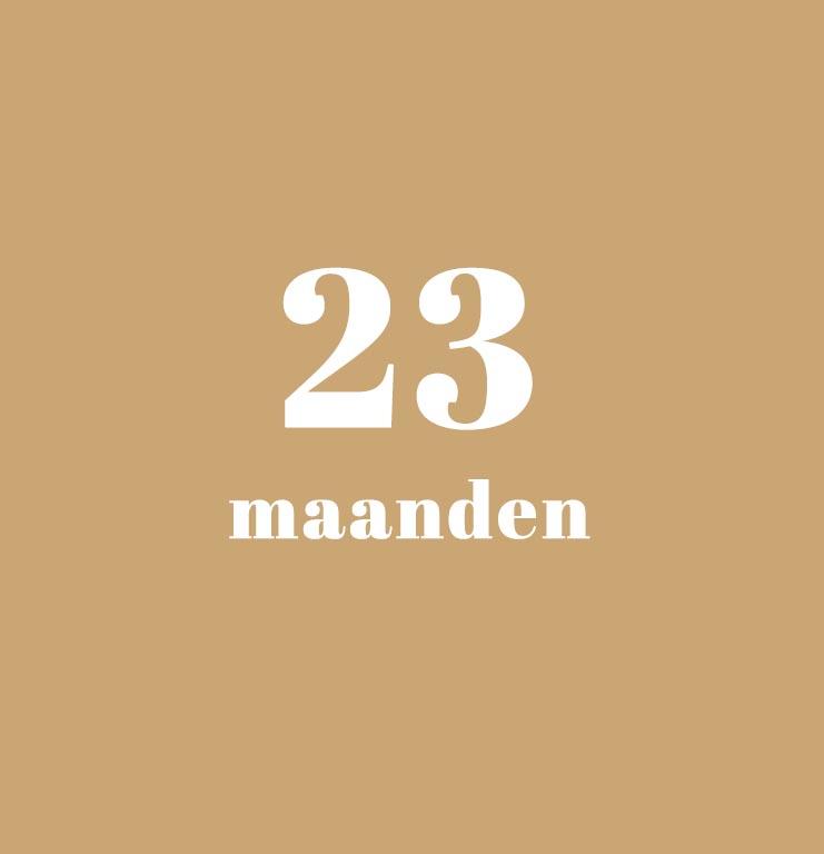 babykalender - 23 maanden