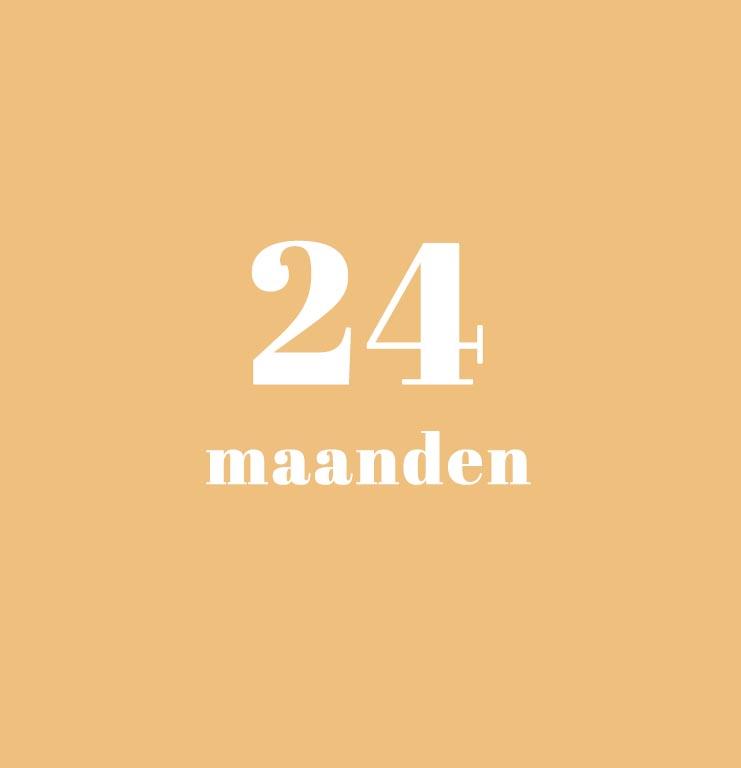babykalender - 24 maanden