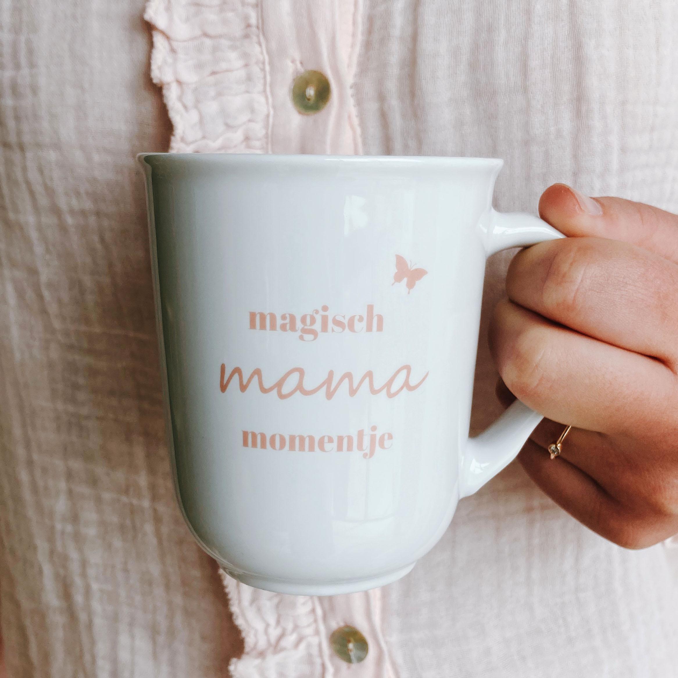 Mok moederdag onder mama's magisch mama momentje