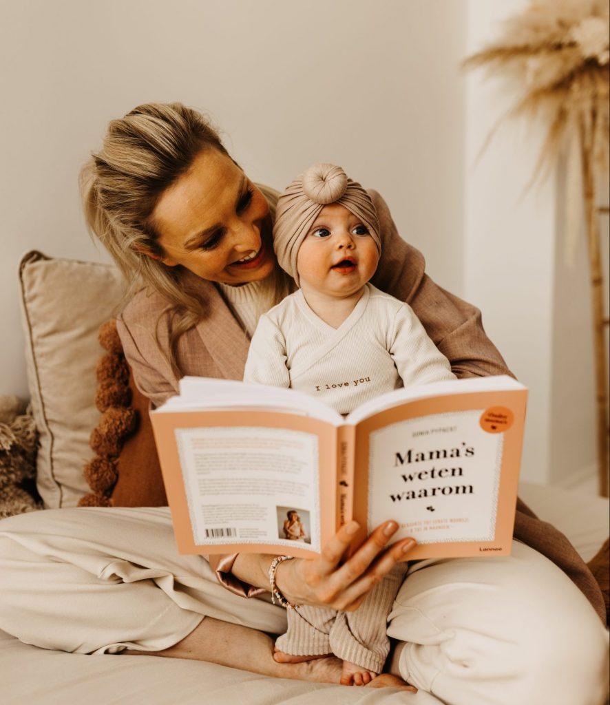 Mama's weten waarom mamaboek baby tips advies sonia pypaert