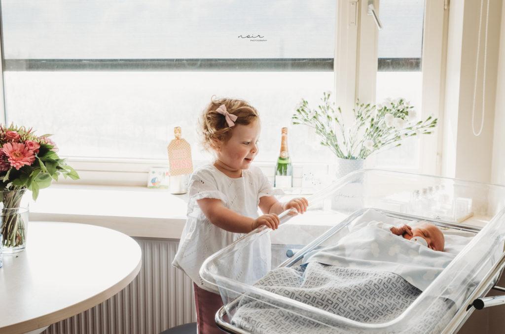 Julie Van Brabant - fresh 48 in ziekenhuis