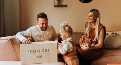 toddler milestone box vaderdag cadeau onder mamas
