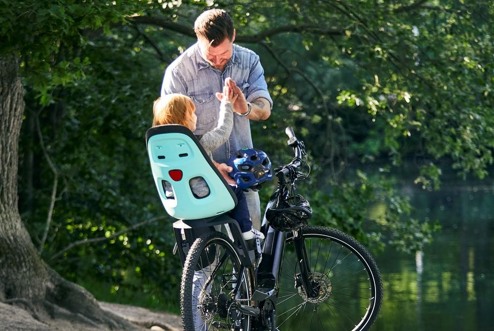 fietsstoel vaderdag cadeau onder mamas