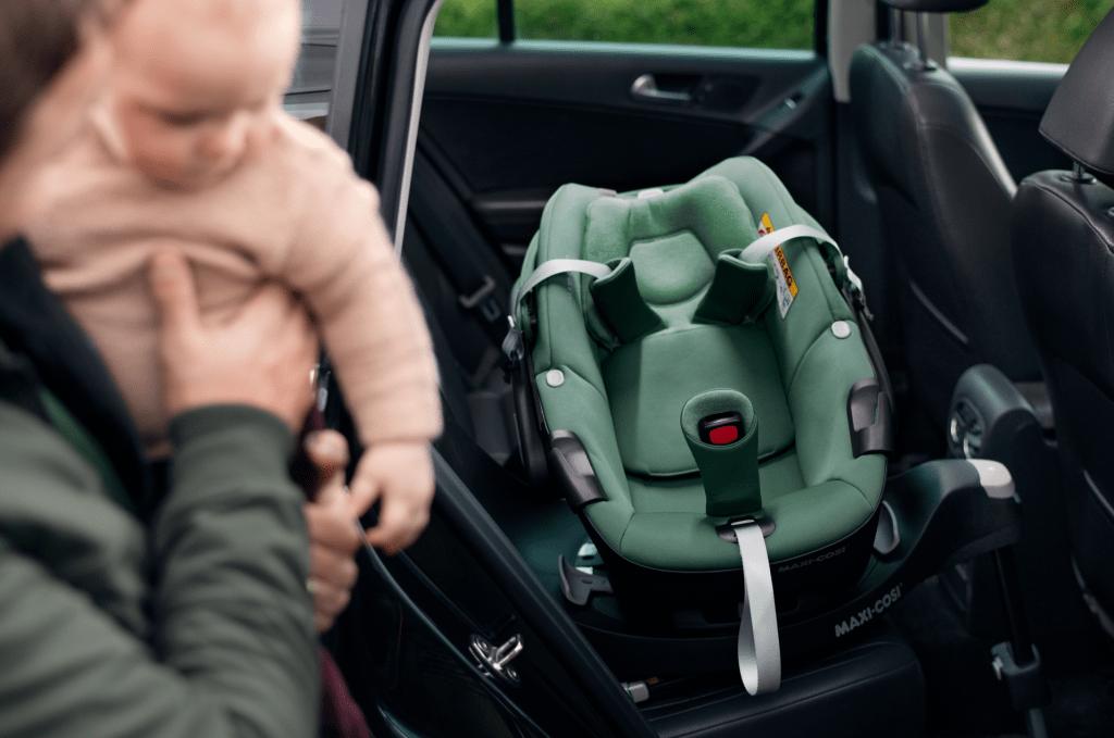 testmama maxi-cosi familyfix pebble 360 draaibare autostoel